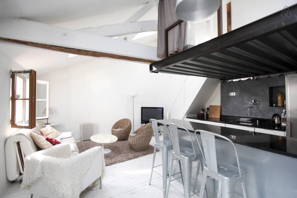 Paris, France  Our Airbnb Apartment