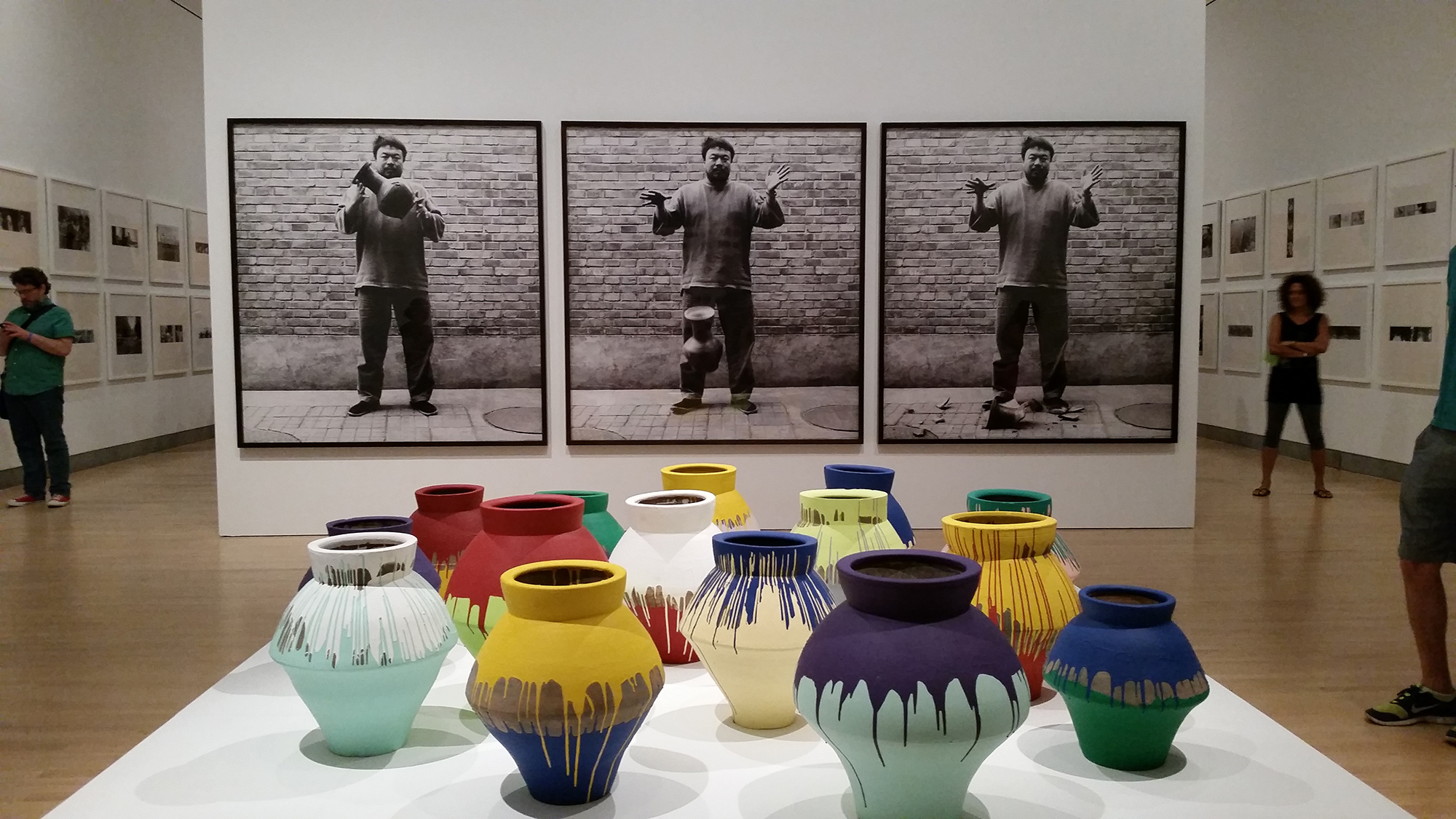 Midtown  Ai Wei Wei retrospective at the MoMA
