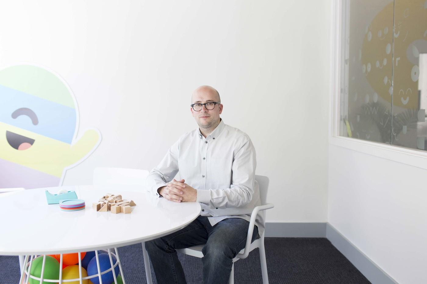 Björn Jeffery, CEO of Toca Boca, for Offscreen Magazine