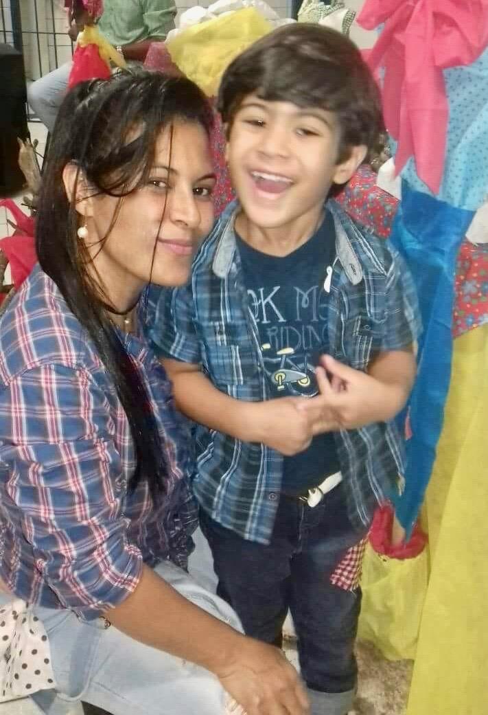 ALDINEIA  - My dear sister and Pablo