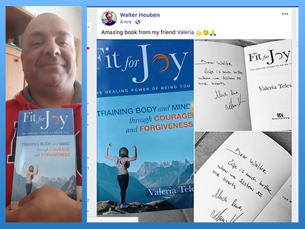 Read what others have to say about Fit for Joy... -