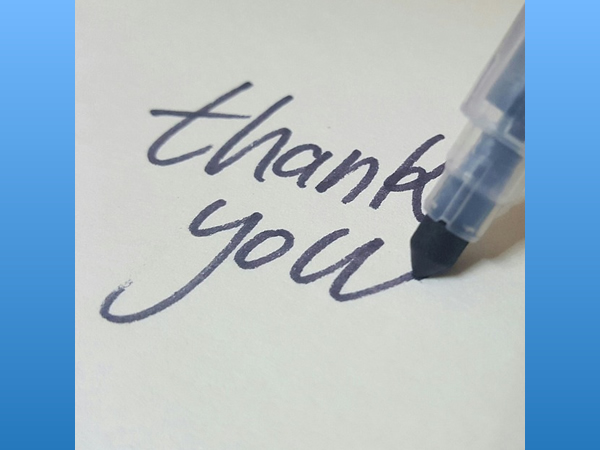 Thank You For Your Support -