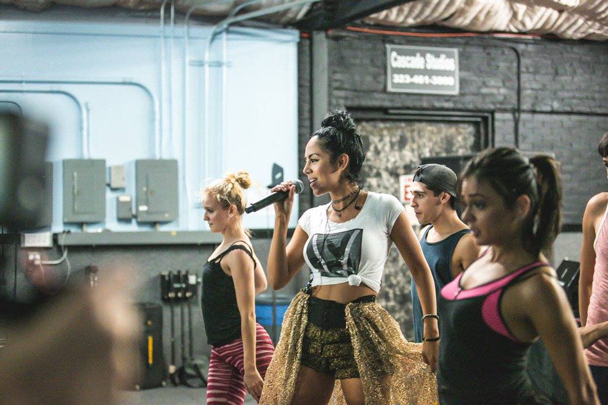 Esther rehearsal with Karmagraphy dancers