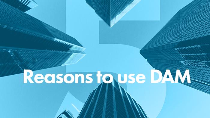 5 reasons to use DAM