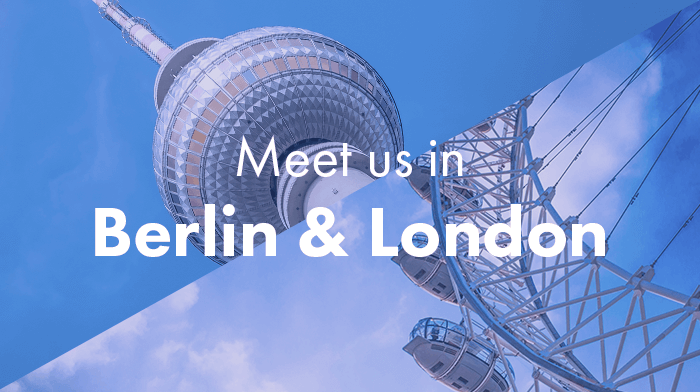 Meet us in Berlin and London Digizuite will join marketing and DAM conferences