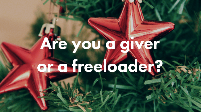 Digizuite Christmas Test- Are you a giver or a freeloader