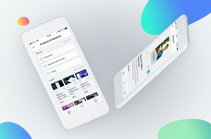 Digizuite™ Mobile - Are you missing an easy way to get access to marketing materials on the go, even when you're offline? Use your smartphone to search, explore and present. We're introducing a mobile-first experience of Digizuite™ DAM software.Read more I Free demo