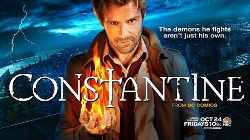 Constantine the TV show and the frustration of cancelled shows before their time.