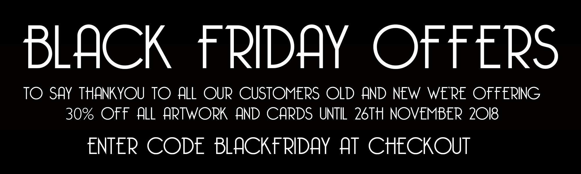 BLACK FRIDAY OFFERS LOVE SOUTHSEA