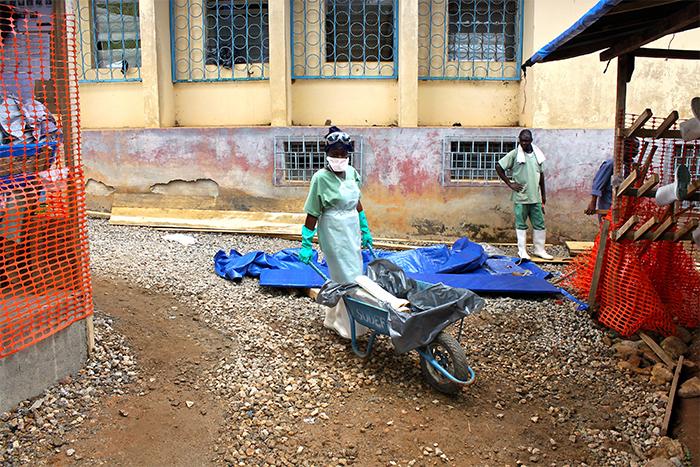 Ebola Treatment Facility, Guinea (Photo: UN)