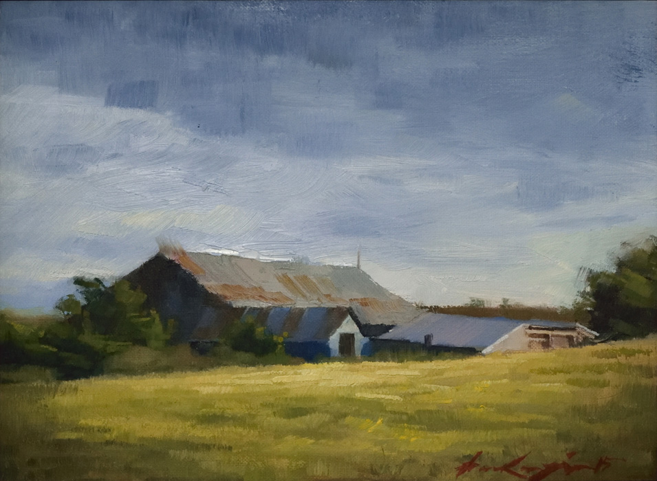 Farm buildings, Urquhart
