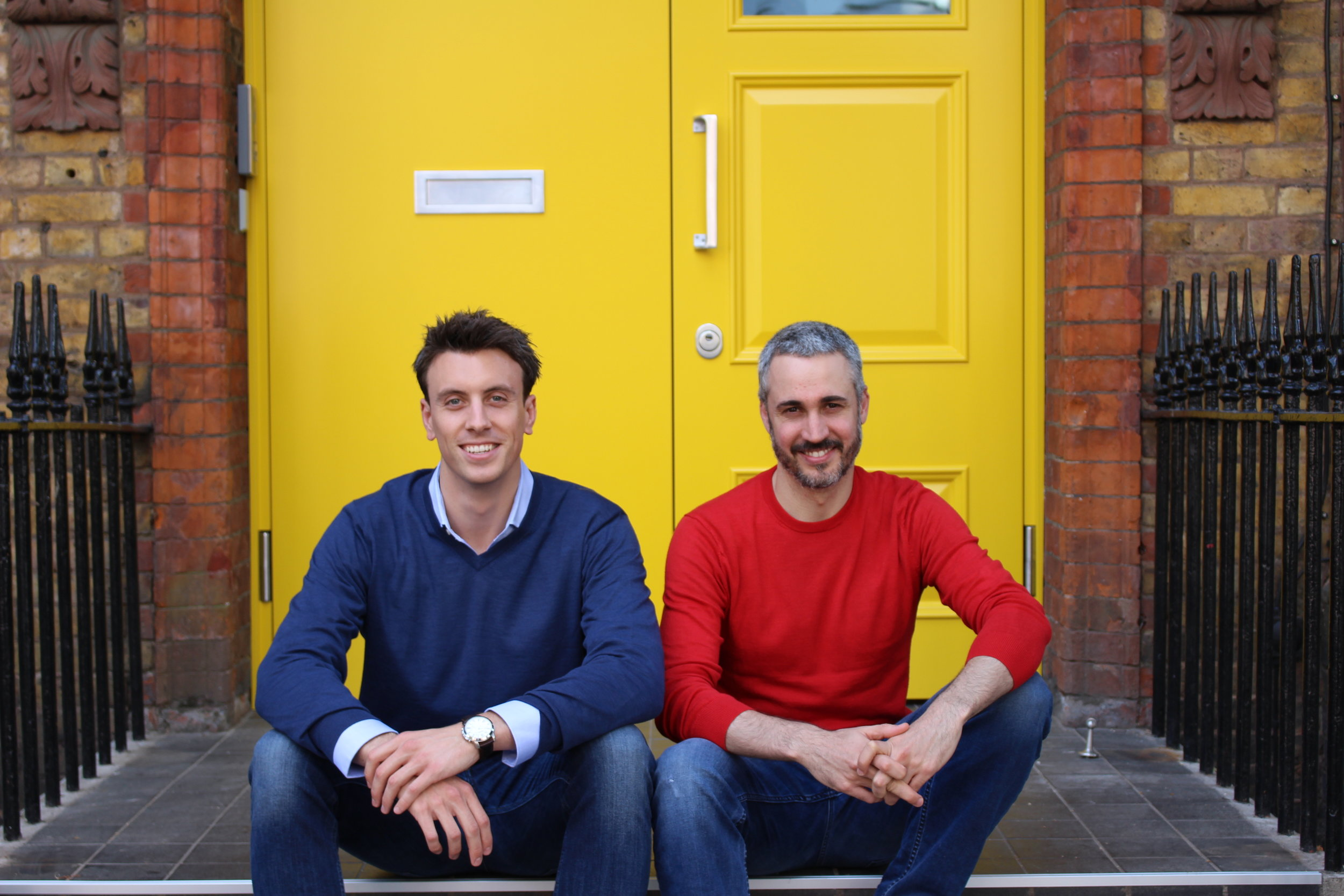 Simon Phelan and Andreu Tobella (chief product officer), Hometree's co-founders