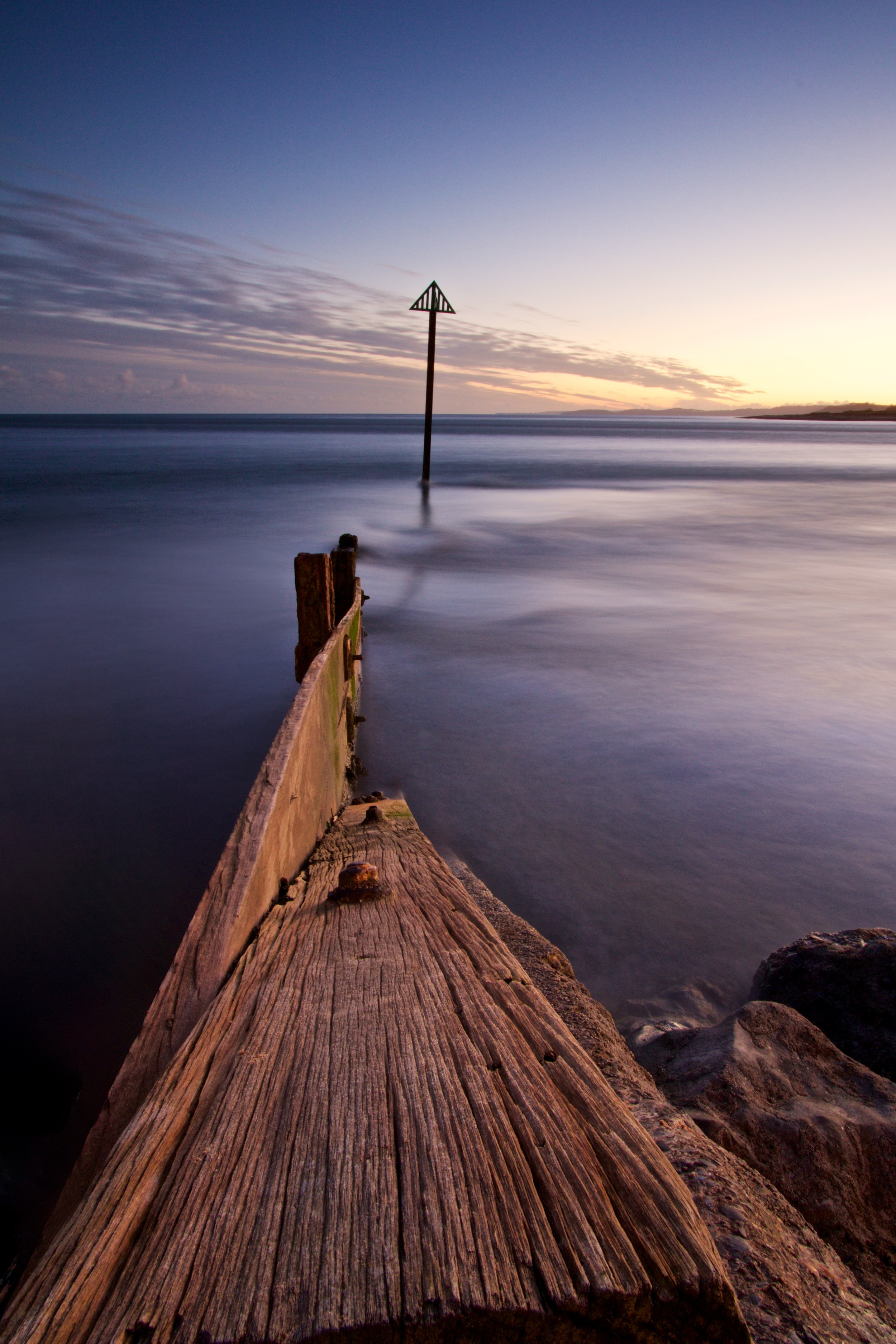 Groynes in Exmouth