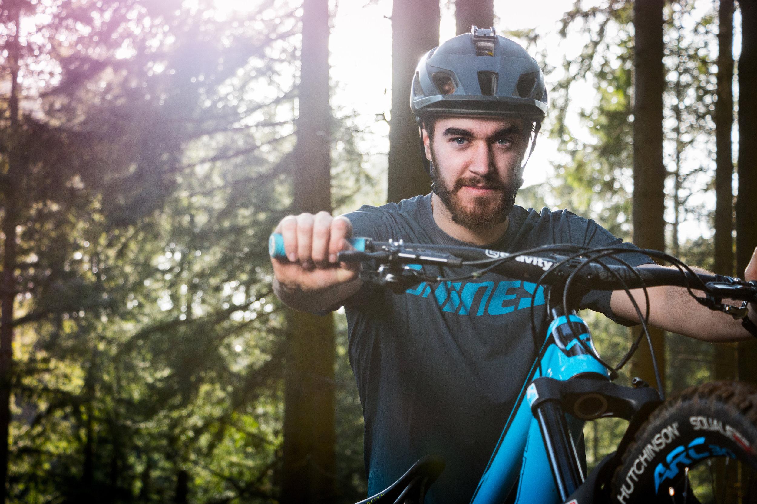 JJ Mountain Bike Portrait