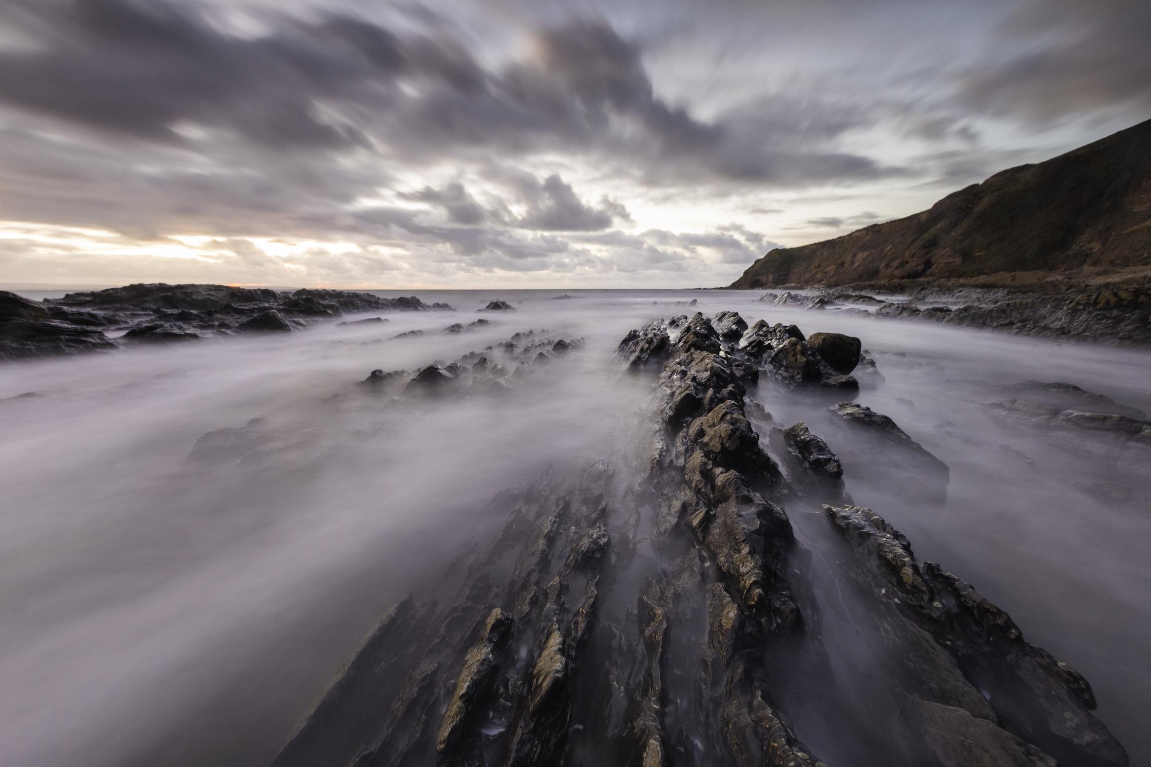 Saunton Sands - Misty Sea