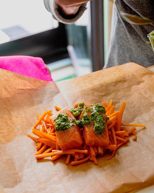 Creme fraîche mit Karotten und Bärlauch Pesto. #gesundkochen beim #abendessen . . #food #foodporn #yum #instafood #yummy #amazing #instagood #photooftheday #sweet #dinner #lunch #breakfast #fresh #tasty #food #delish #delicious #eating #foodpic #foodpics #eat #hungry #foodgasm #hot #foodspring
