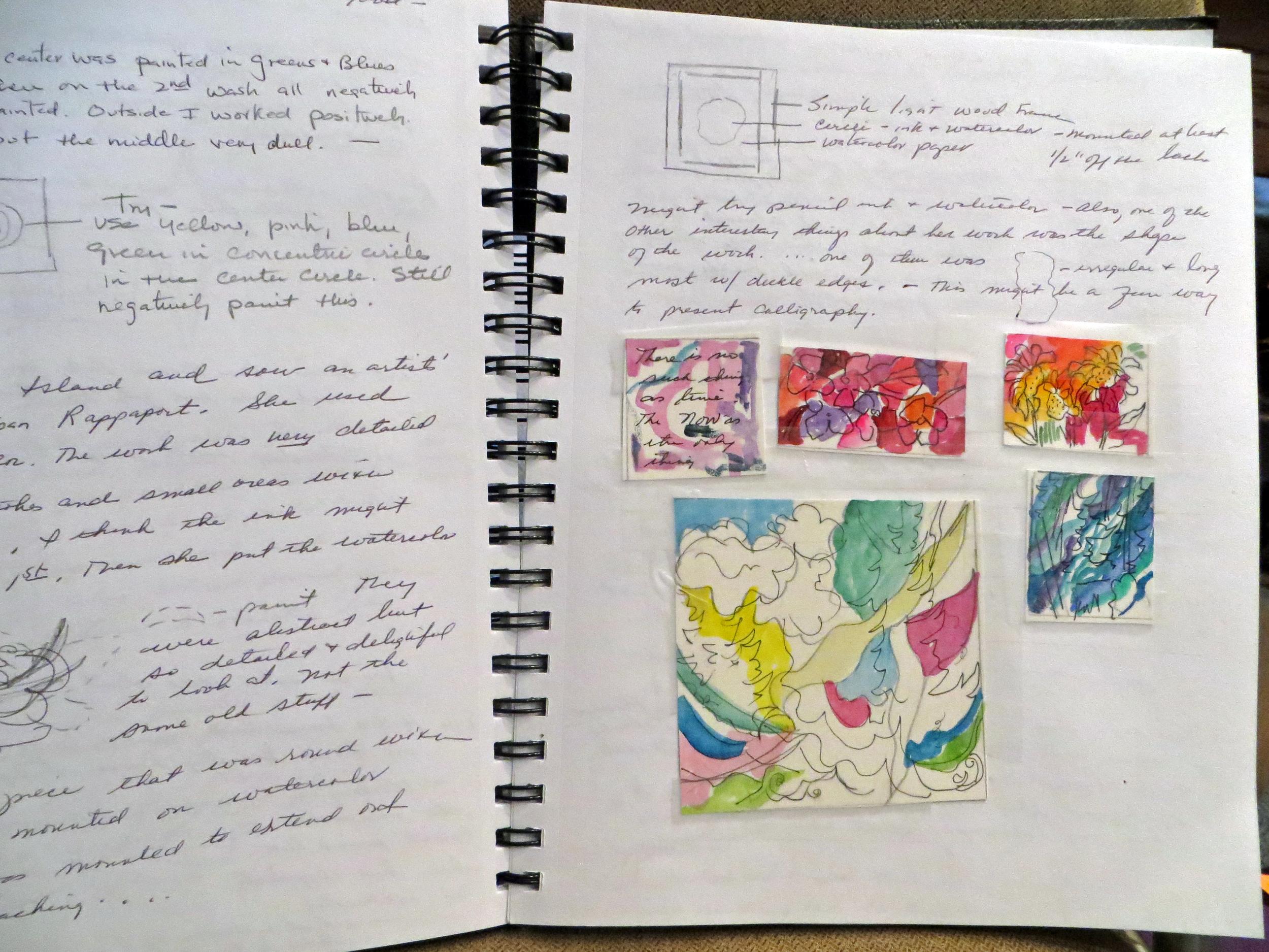 Spiral Art Journal