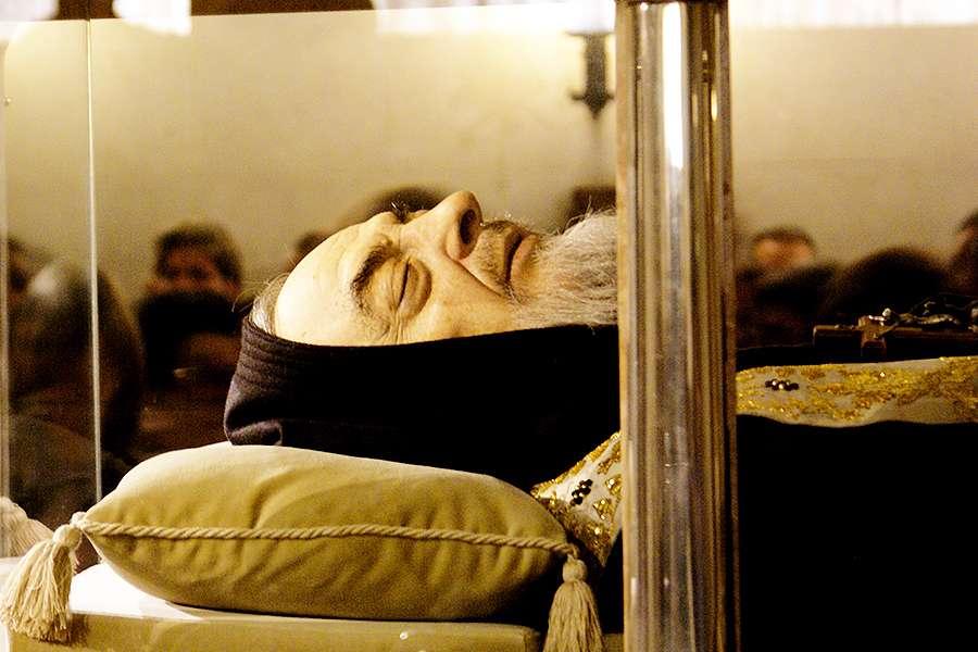 Incorruptible Body of Saint Padre Pio