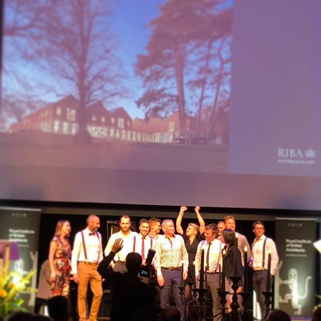 Congratulations to the @stonewooddesign crew! Winners of South West  #ribaawards