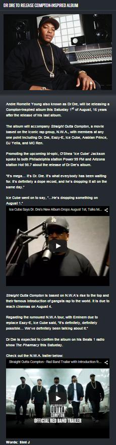 Dre Dre Top Release New Album.PNG