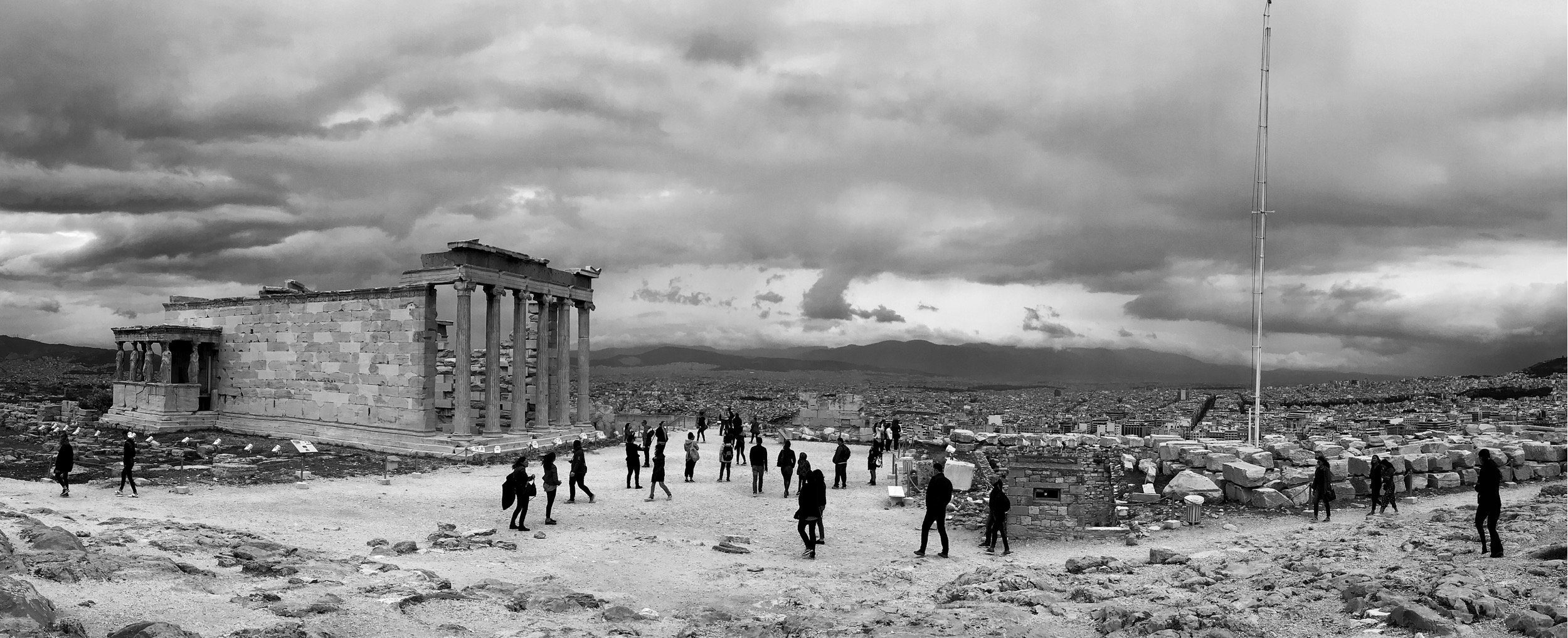 Parthenon, Athens, Greece :: 2017