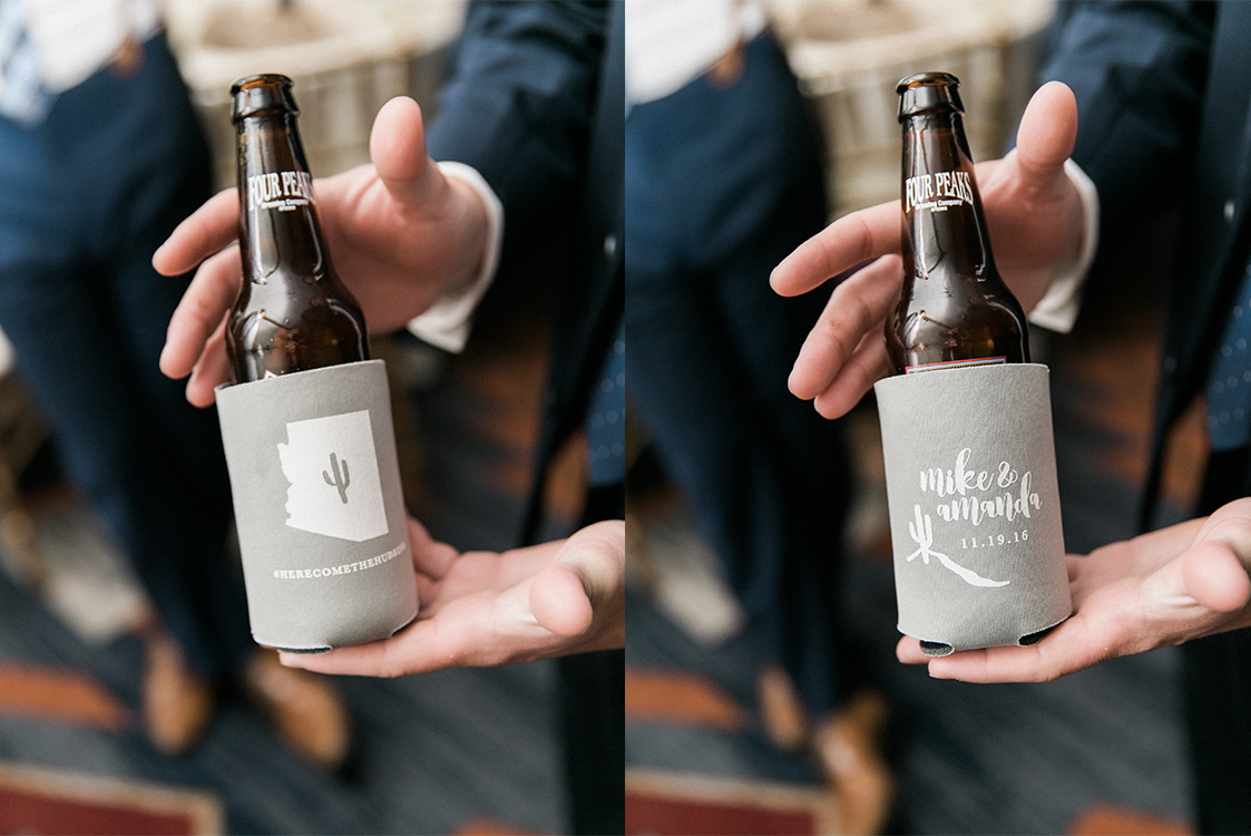 Coozie Wedding Favors