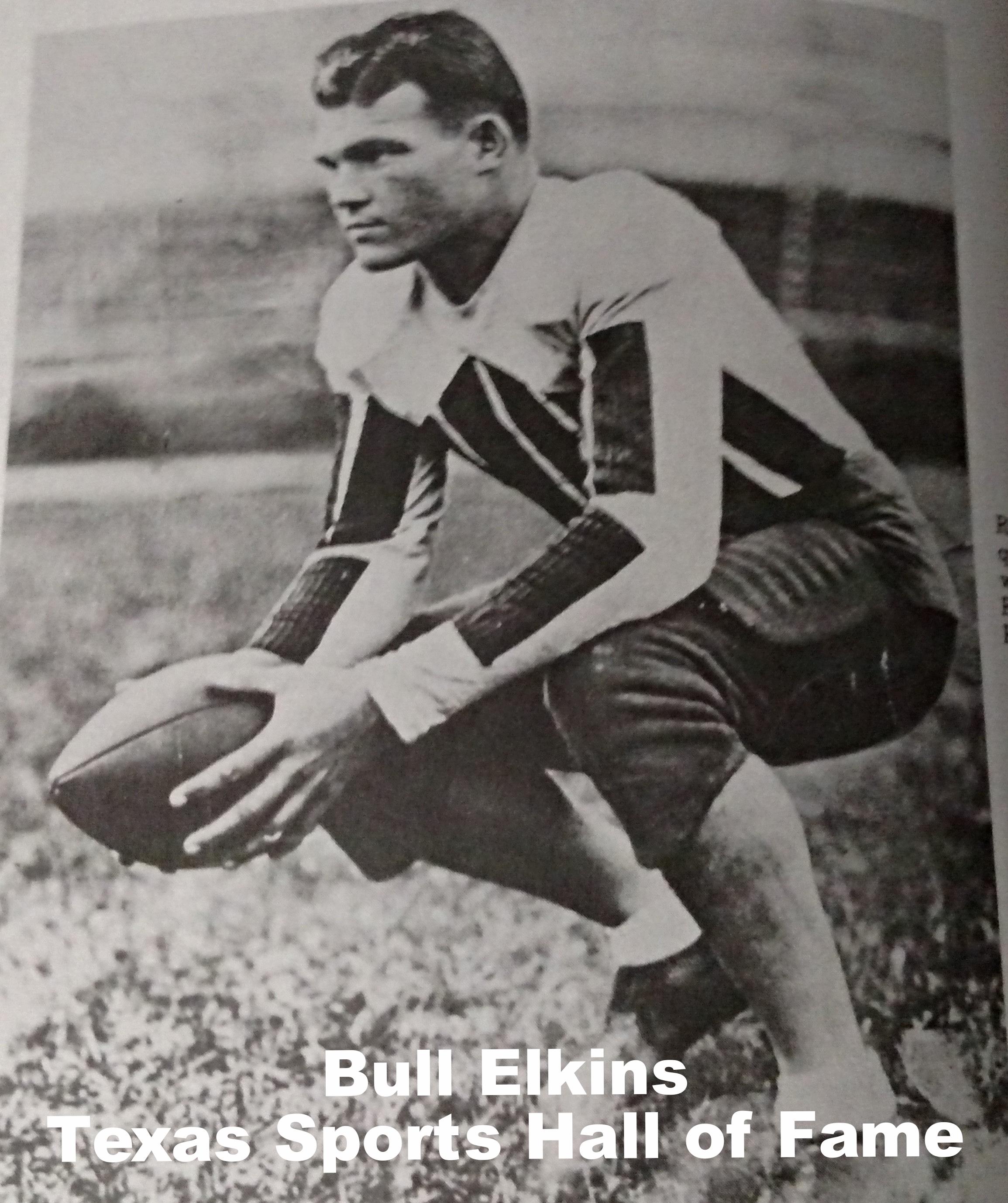 Bull Elkins - 1930 Rhodes Scholar