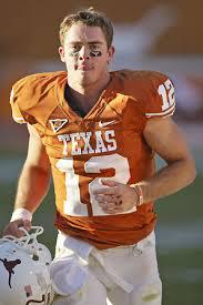Colt McCoy- 2008 and 2009 Walter Camp