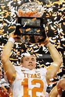 Colt McCoy 2009 Manning Award