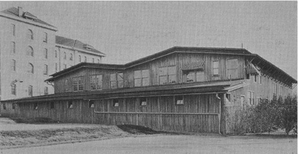 1917 to 1928 all wood men's Gym was the home of Texas basketball