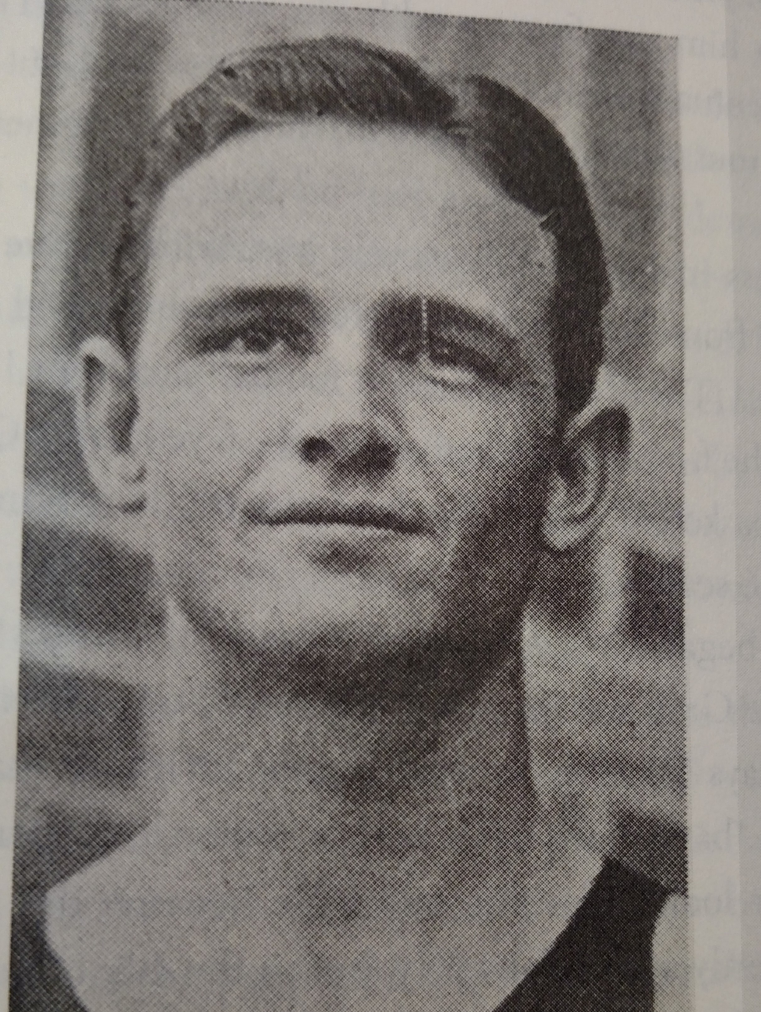 Jack Gray All American in 1934-1935