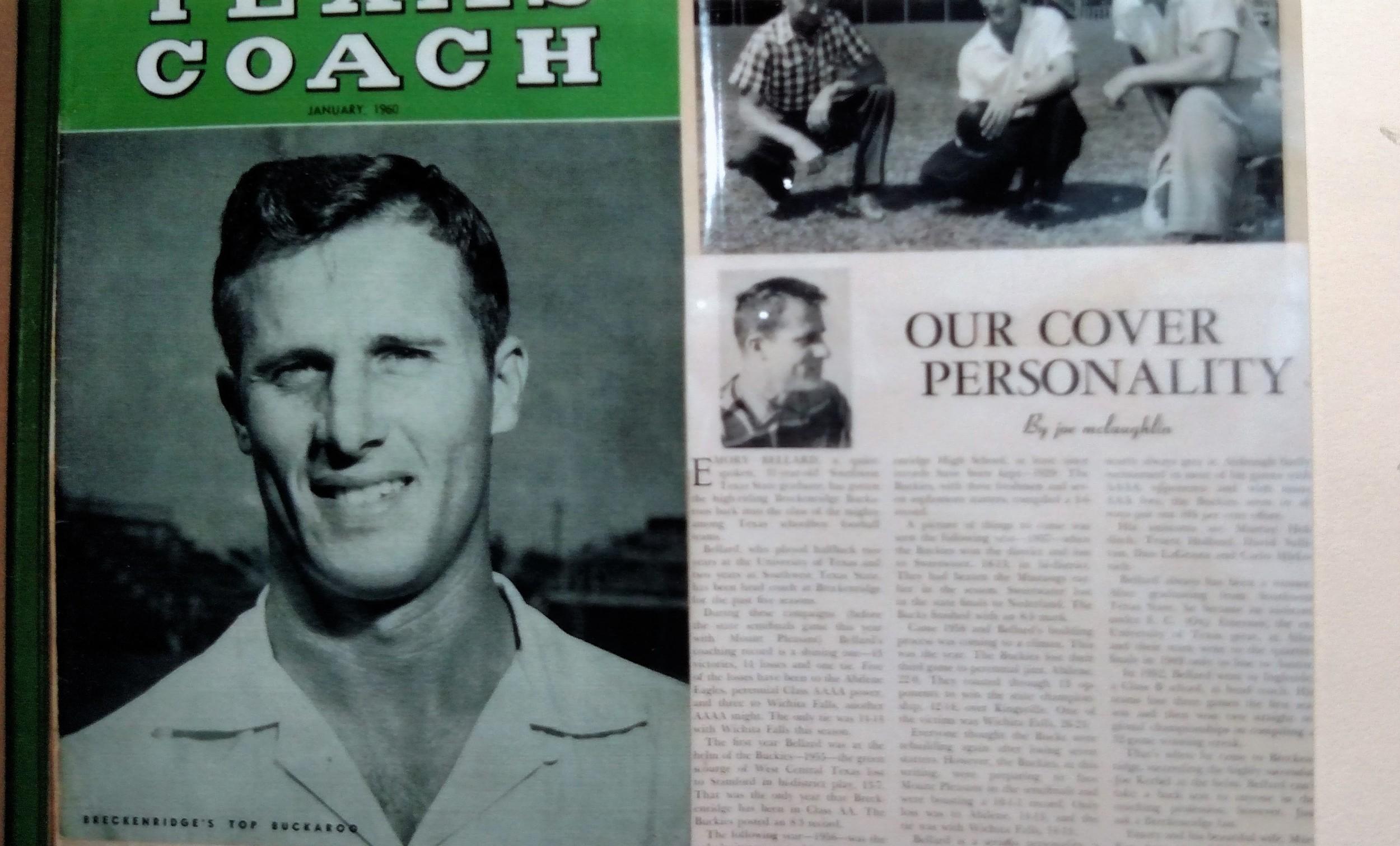 Coach Bellard as a high school coach