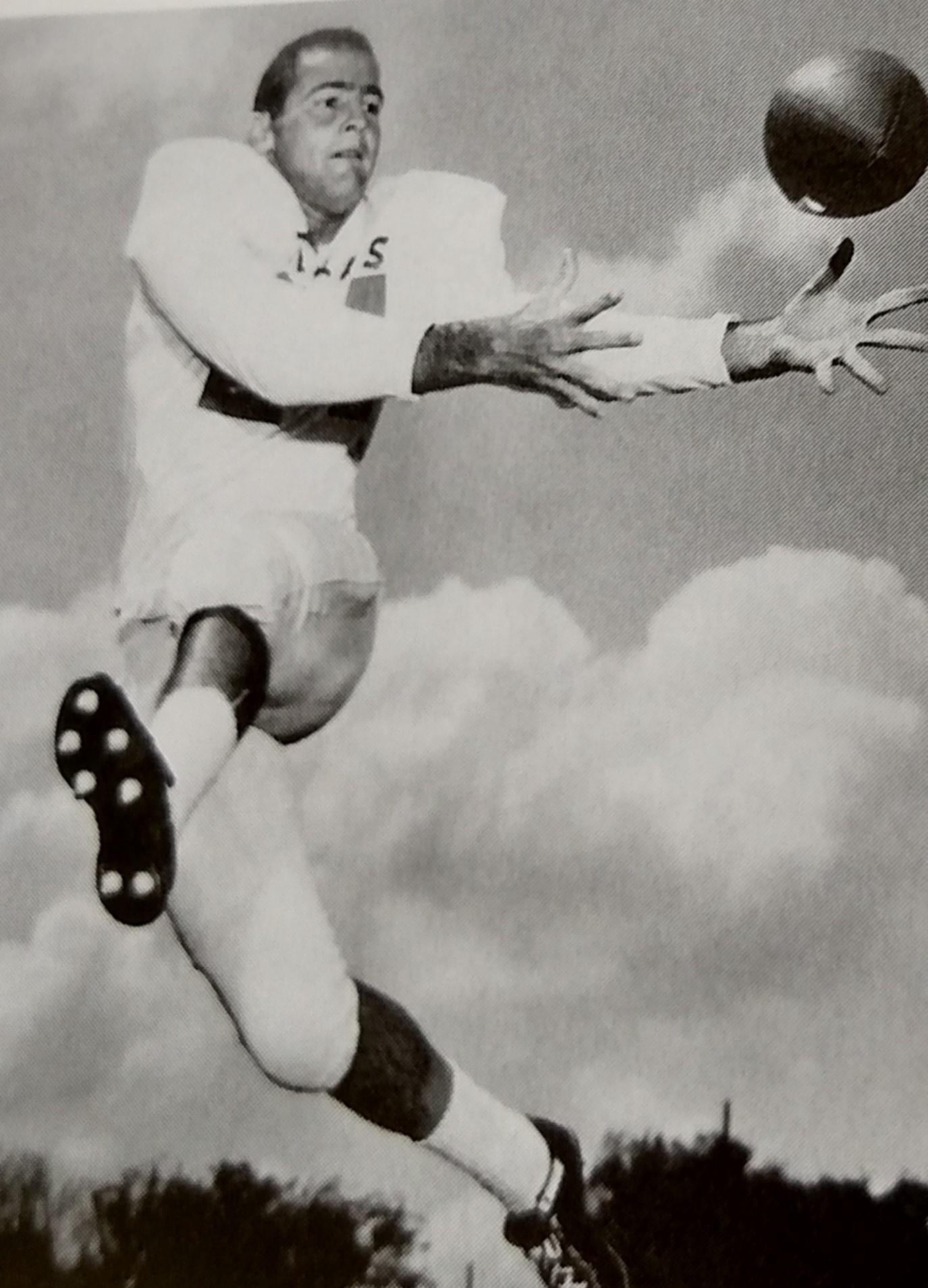 Bob Gurwitz intercepts against A & M