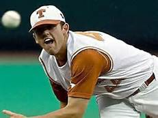 Austin Wood sets a Texas career record of 118 appearances.