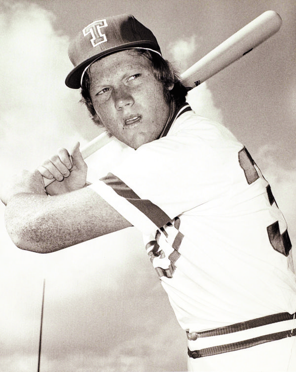 Keith Moreland leads the team in batting in 1973 (.349), 1974 (.399), and 1975 (.410)