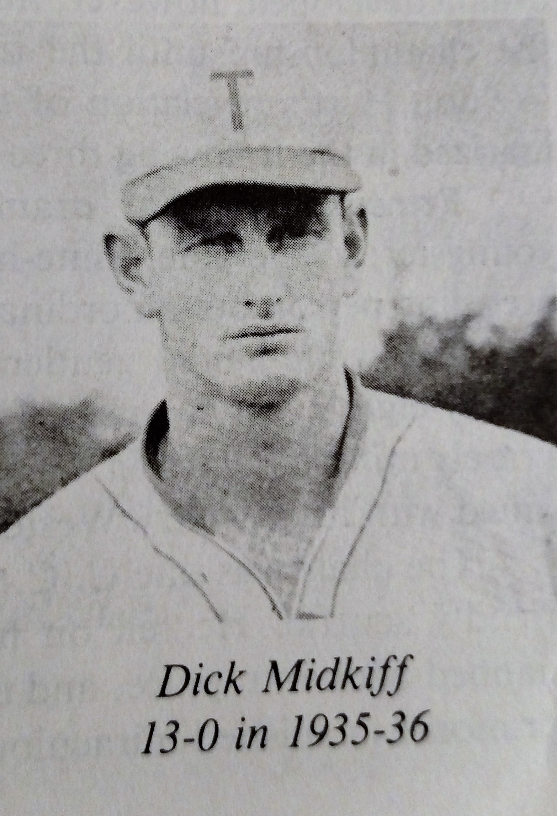 Dick Midkiff- 13-0