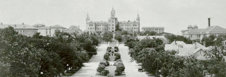 Old Main from the State Capitol