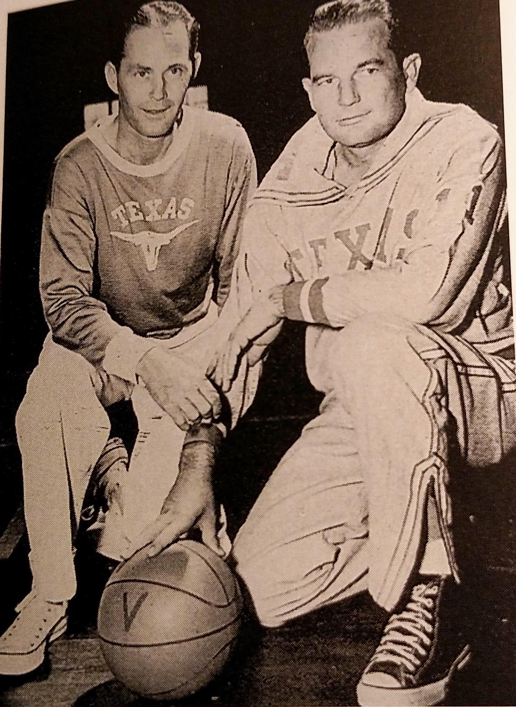 Coach Hughes and Coach Hull  (right)