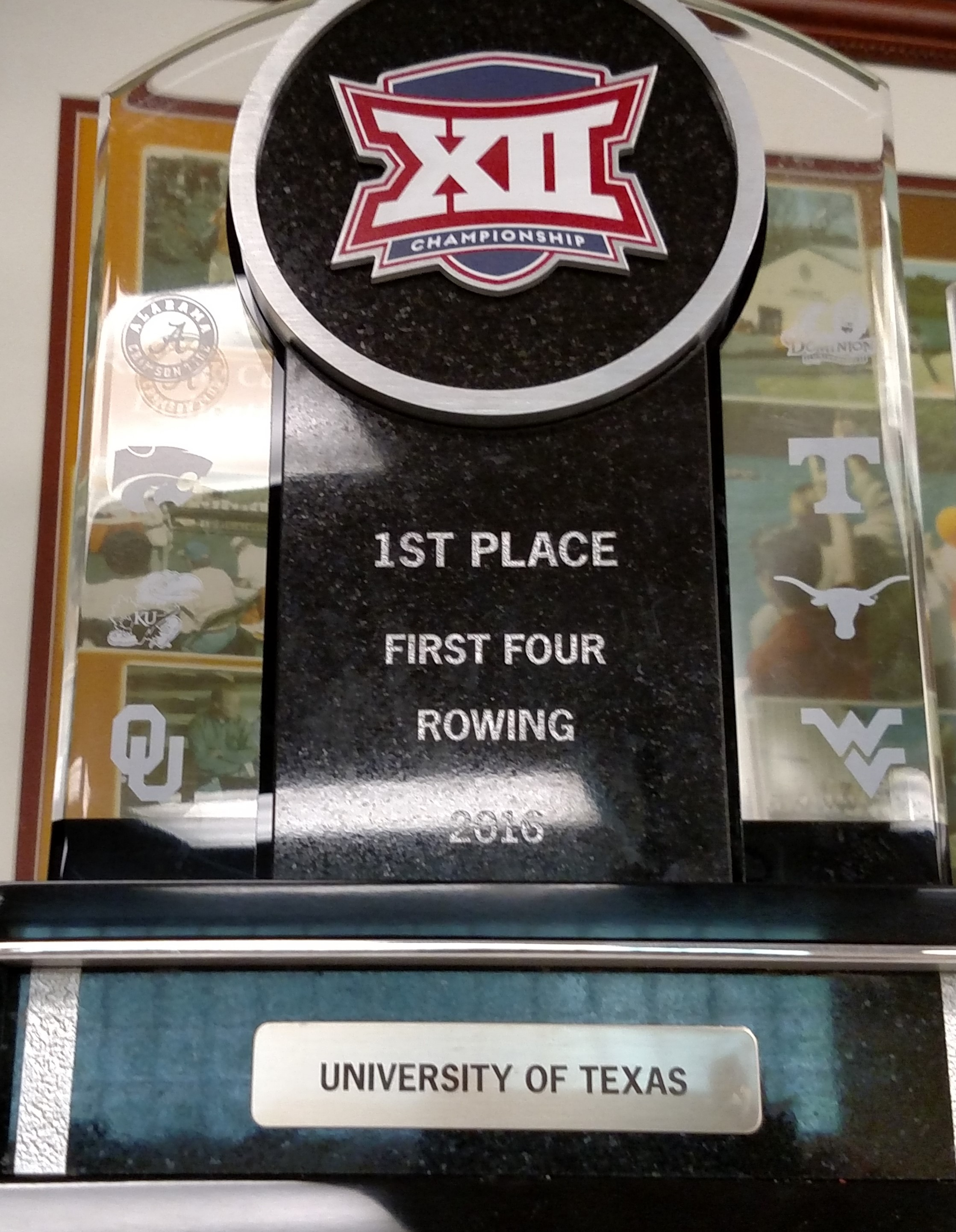 one of many first place finishes