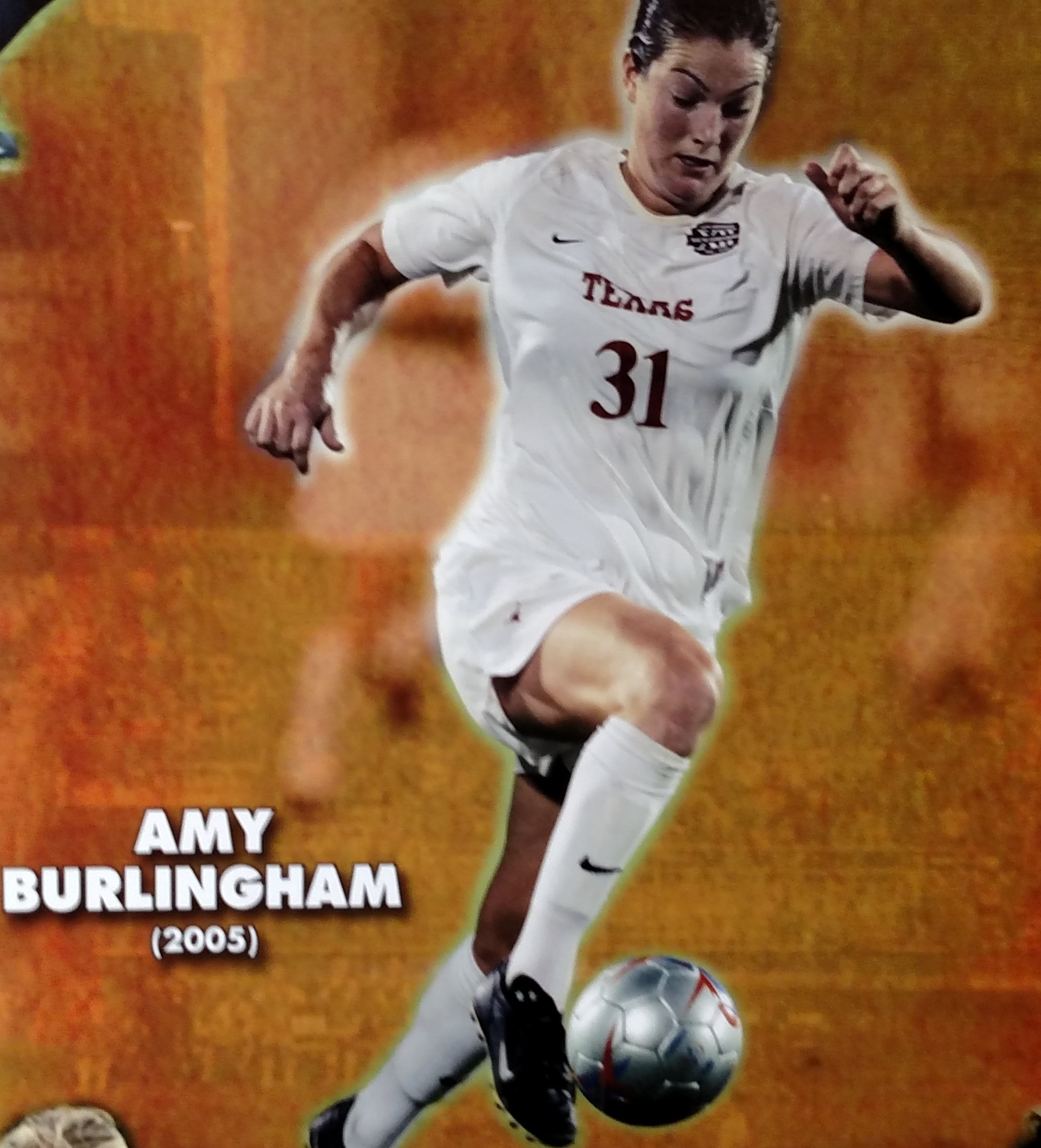 Amy Burlingham- All Big 12 tournament and  Academic MVP in 2001