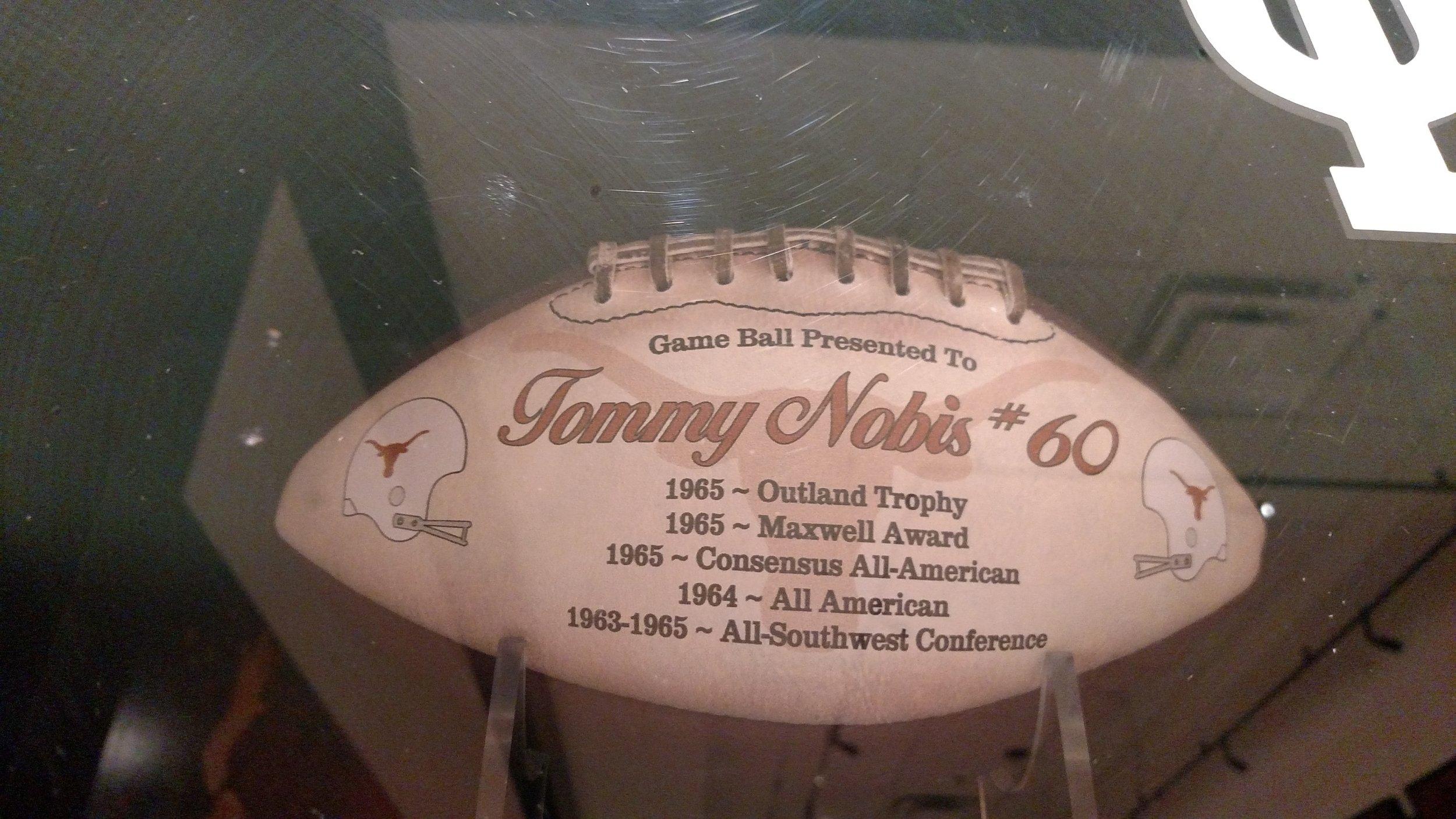 Tommy Nobis football