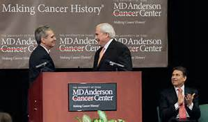 Presenting at M.D. Anderson