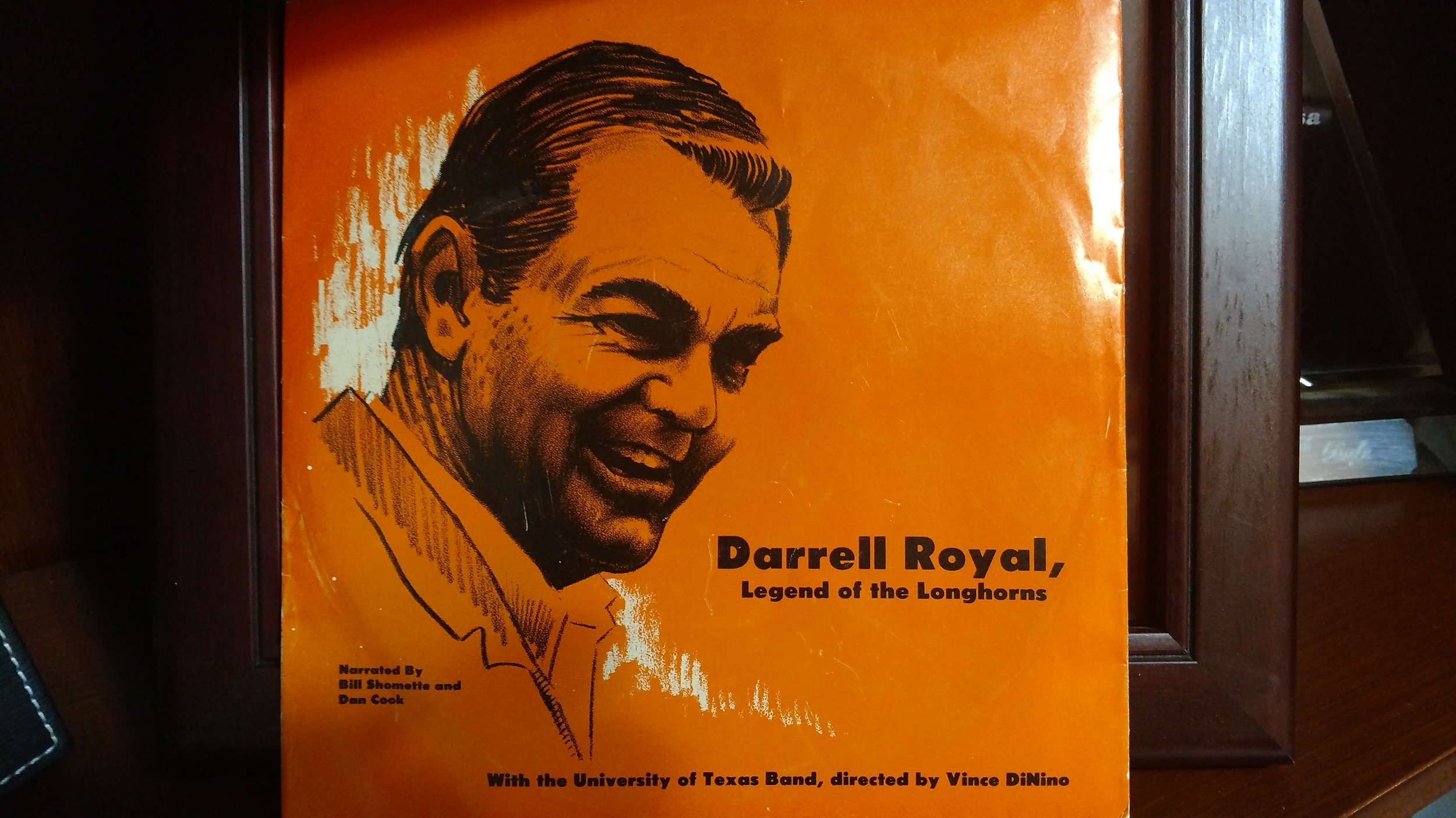 Cover to Royal 33 record