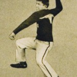1924 Baseball Logo - The image with the horns down was inspired by the Longhorn photo to the right. -