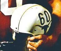 1964- Tommy Nobis helmet