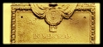 WWI Memorial Plaque with Longhorn at top in circle -