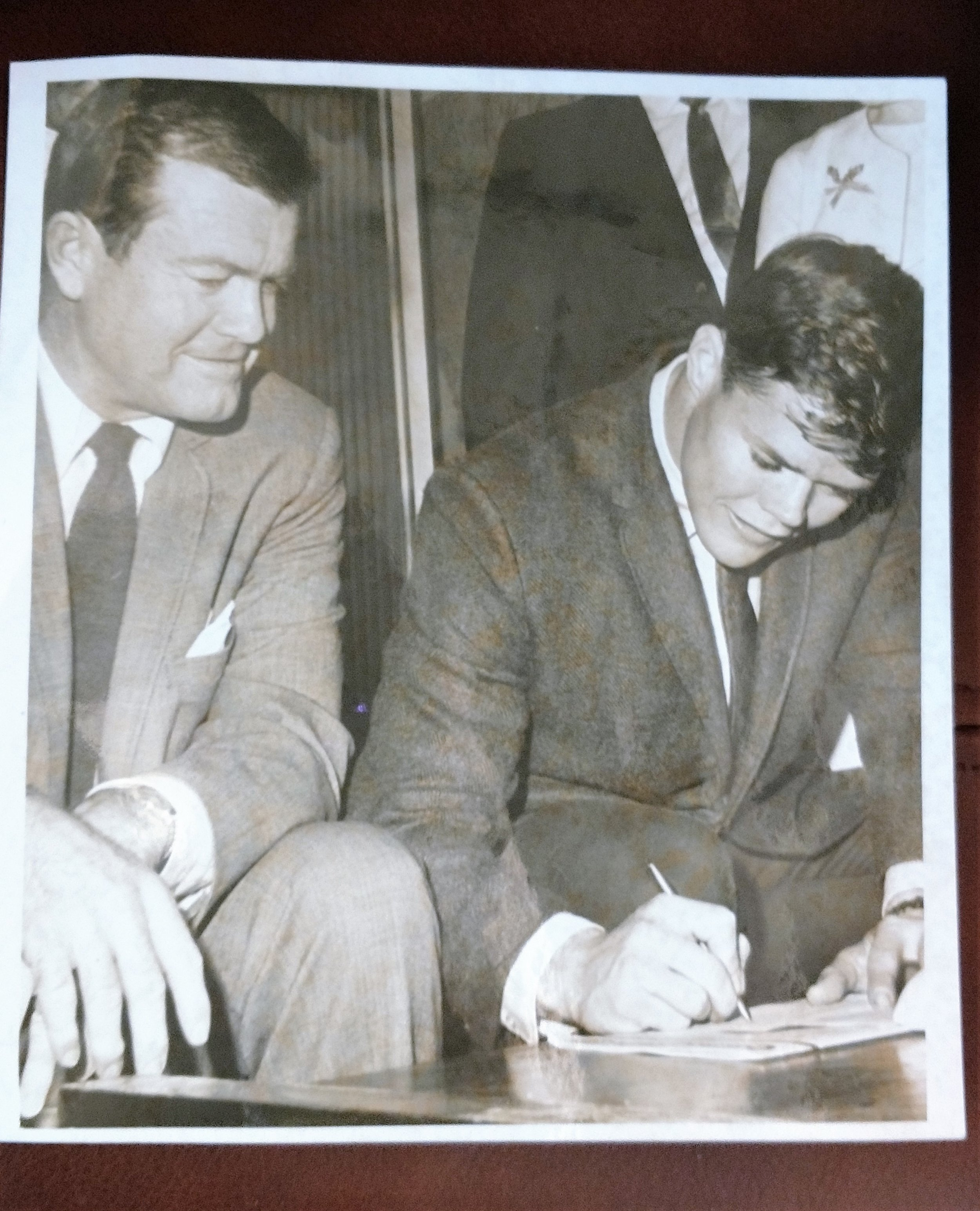 1967 signing date