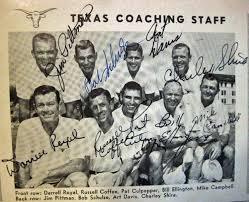 Coaching Staff 1965 -