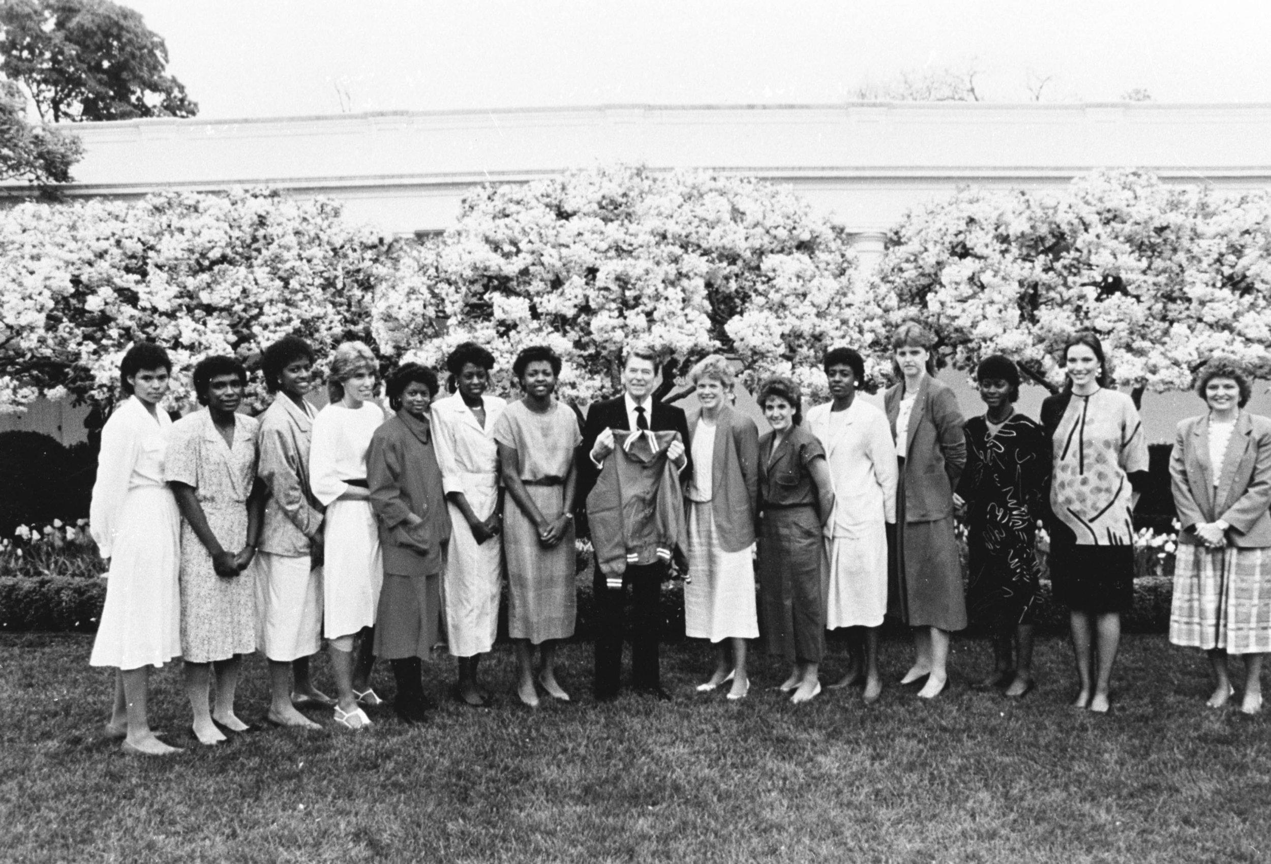 President Regan Host the Longhorns