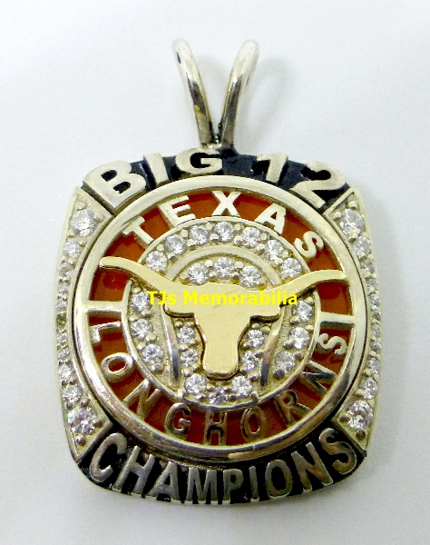 2014 Tennis Big 12 championship pendant